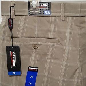 Kirkland men's flat front shorts